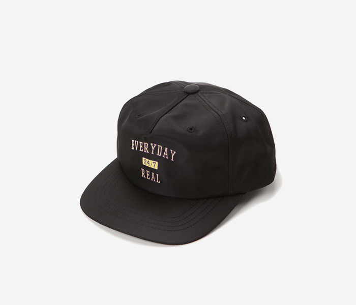 247 NYLON CAP - BLACK brownbreath