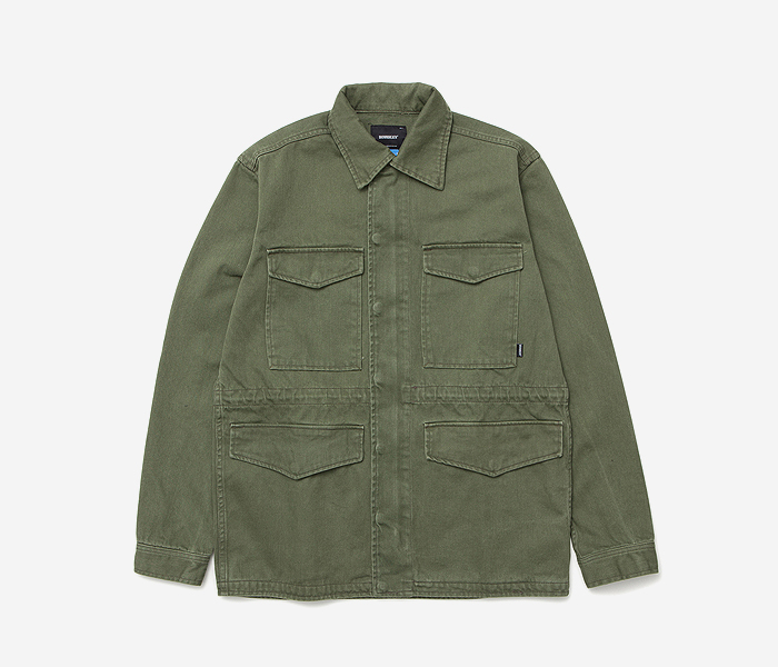 STM CODE M51 JACKET - KHAKI brownbreath