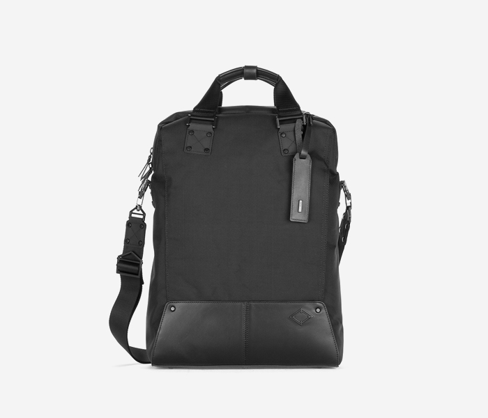 B106 Cross Bag - Length - BLACK brownbreath