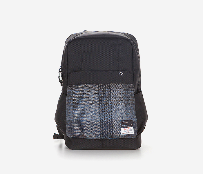 N040 CIVITAS BACKPACK - HARRIS TWEED brownbreath