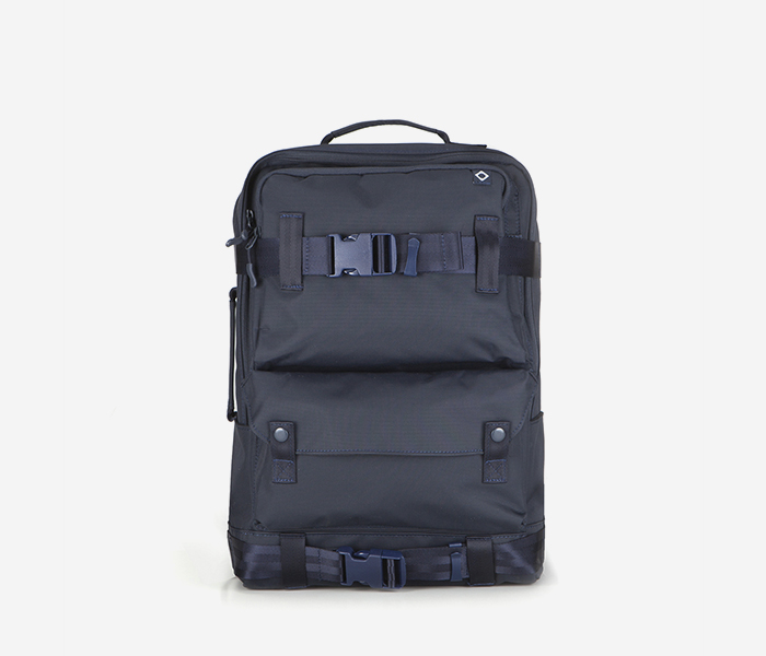 C020 DEFINITION BACKPACK - NAVY brownbreath