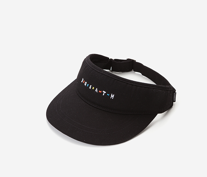 BREATH SUN CAP - BLACK brownbreath