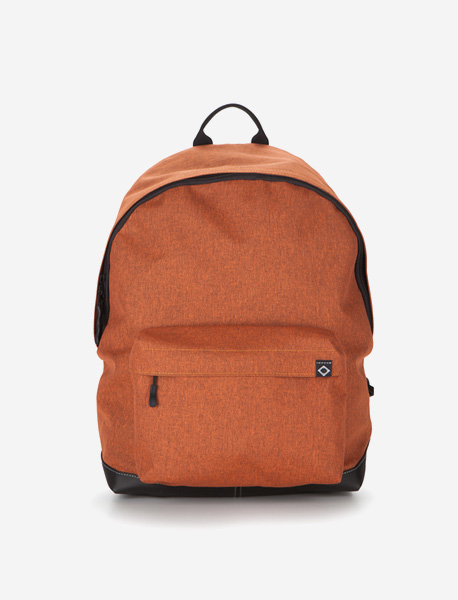 N020 BASIS DAYBAG - 2TONE ORANGE brownbreath