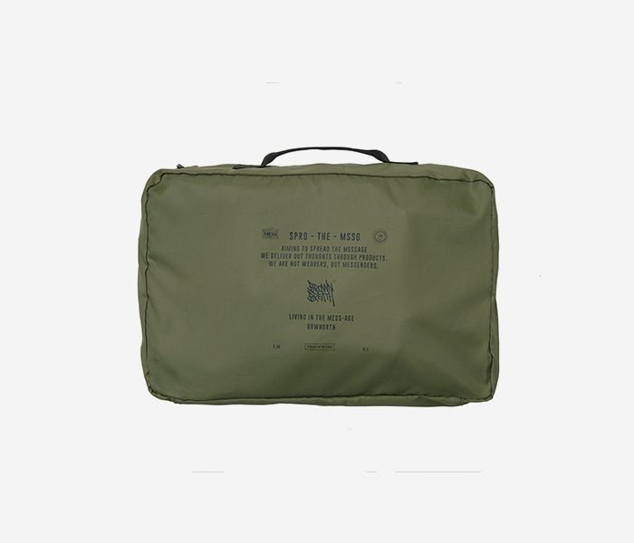 STIN TRAVEL CASE M - KHAKI brownbreath