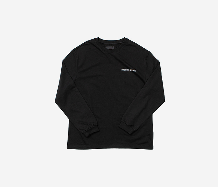 STM TYPE LONGSLEEVE - BLACK brownbreath