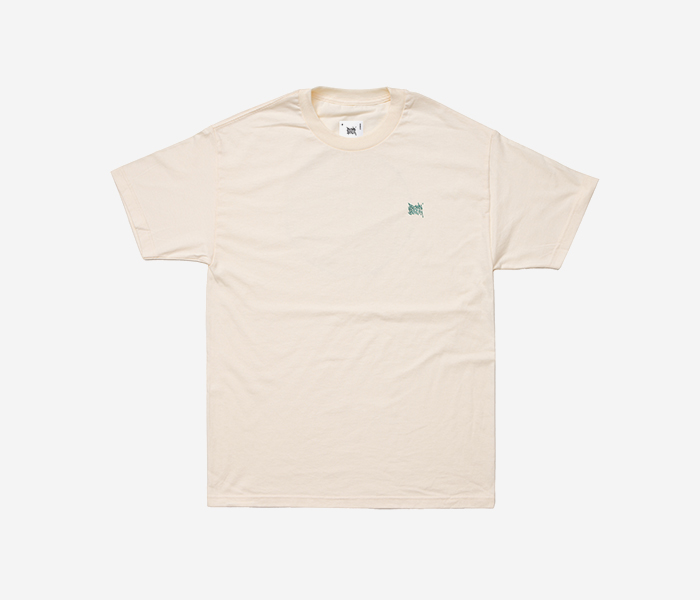 STIN TEE - CREAM brownbreath