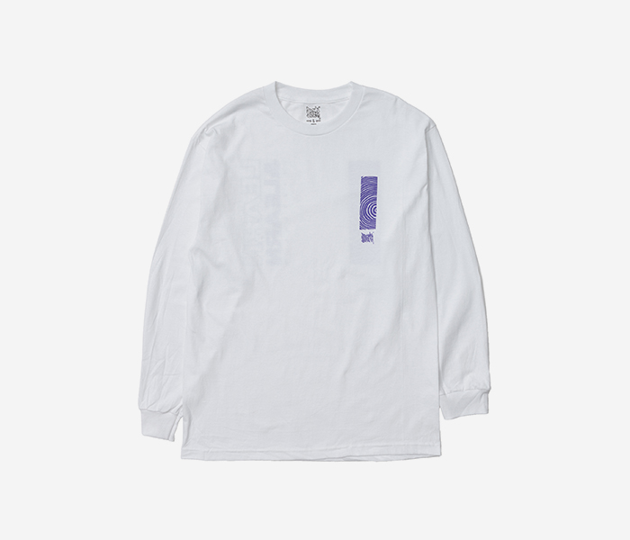 LEARN&LEARN LONGSLEEVE - WHITE brownbreath
