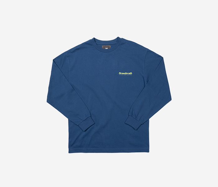 B TYPE LONGSLEEVE - BLUE brownbreath
