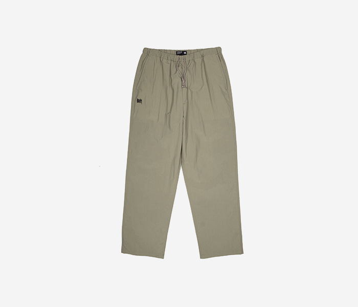 TAG STRING PANTS - BEIGE brownbreath