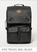 ATCE Travel Bag - Black brownbreath