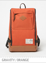 Gravity Backpack - Orange brownbreath