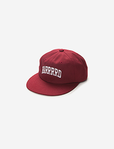 HARD 6PANNEL CAP(COTTON) brownbreath