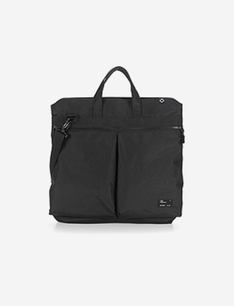 N043 CIVITAS TOTE BAG(H) - BLACK brownbreath