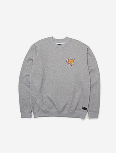 CRAY CREWNECK - GREY brownbreath