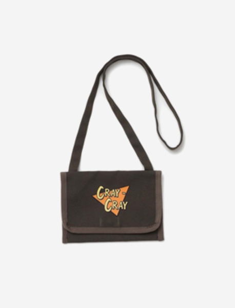 CRAY SHOULDER M.BAG - KHAKI brownbreath