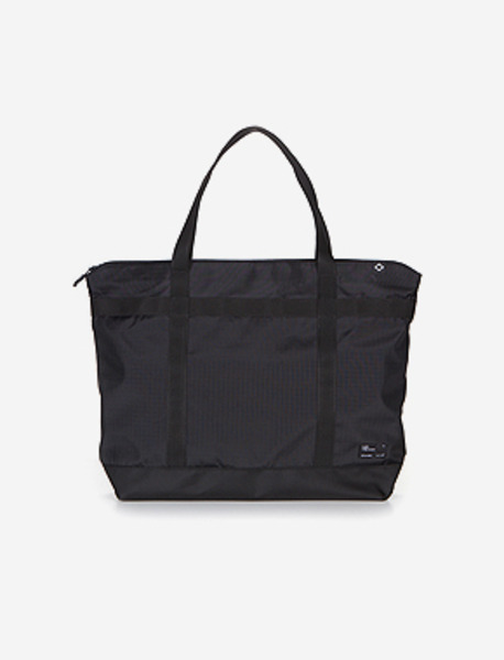N042 CIVITAS TOTE BAG(W) - BLACK brownbreath