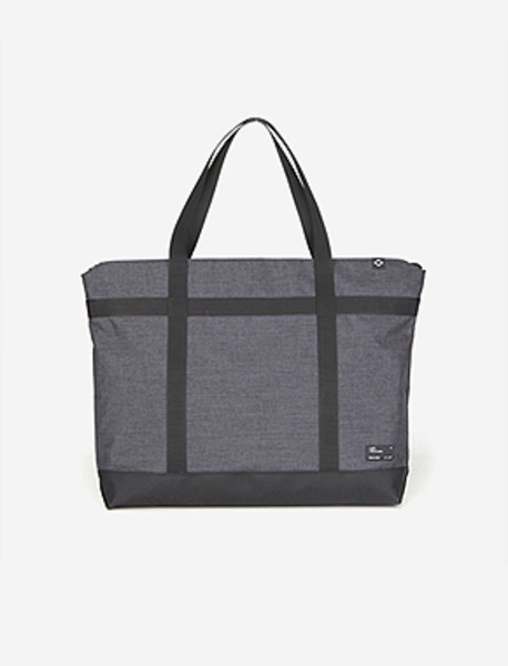 N042 CIVITAS TOTE BAG(W) - GREY brownbreath