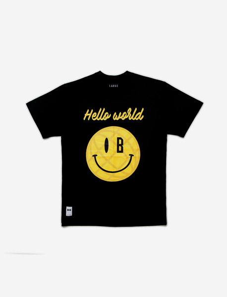 BXM HELLO WORLD - BLACK brownbreath