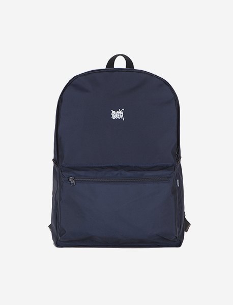 TAGGING M.BACKPACK - NAVY brownbreath