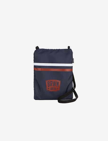 BB SECTOR M.CROSS BAG - NAVY brownbreath