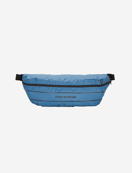 SLOGAN M.WAIST BAG - BRIGHT BLUE brownbreath