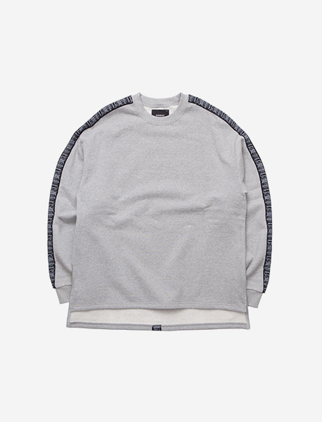 REVAMP CREWNECK - GREY brownbreath