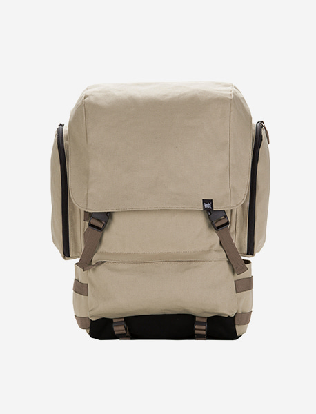 (예약발송) RESISTANCE BACKPACK - BEIGE brownbreath