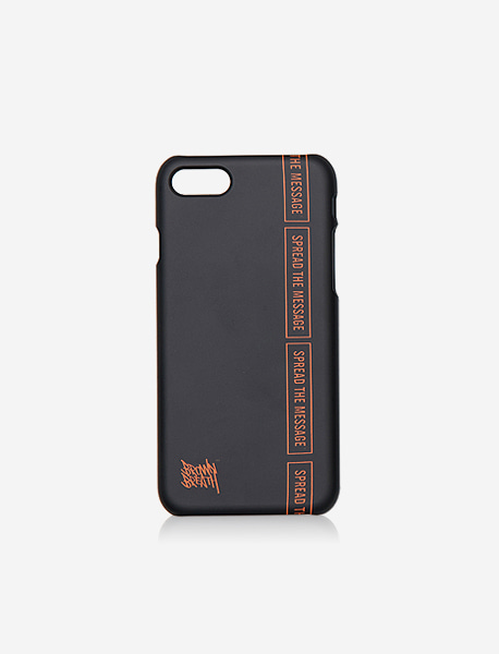 SLOGAN CASE - BLACK brownbreath