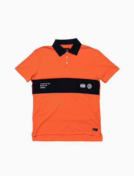 MESS-AGE PK SHIRTS - ORANGE brownbreath