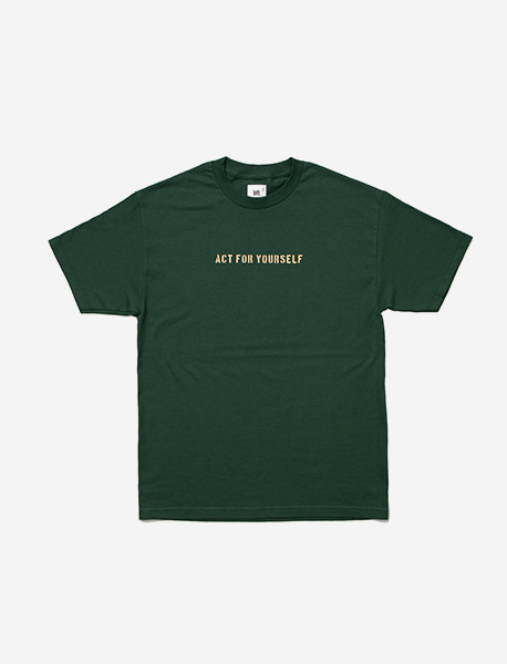 AFY TEE - GREEN brownbreath