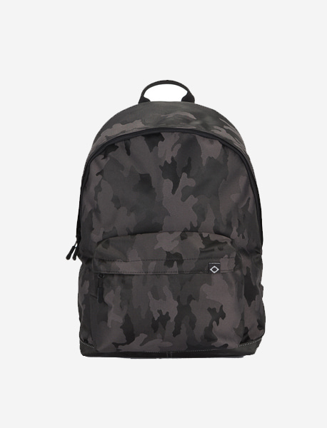 N020 BASIS DAYBAG - JACQUARD CAMO brownbreath