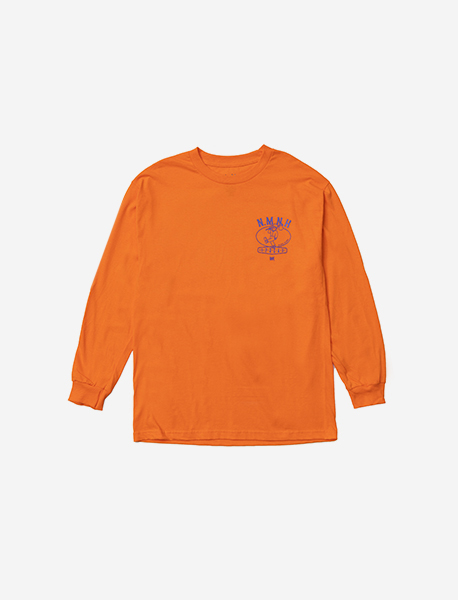 NMNH LONGSLEEVE - ORANGE brownbreath