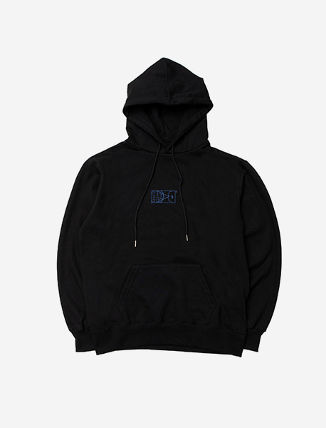 TOO MANY HOODIE - BLACK brownbreath