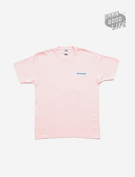 DGL TEE - LIGHT PINK brownbreath