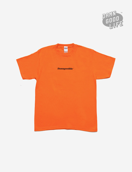 TEMPT TEE - ORANGE brownbreath