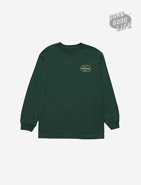 GOOOOOD LONGSLEEVE - GREEN brownbreath