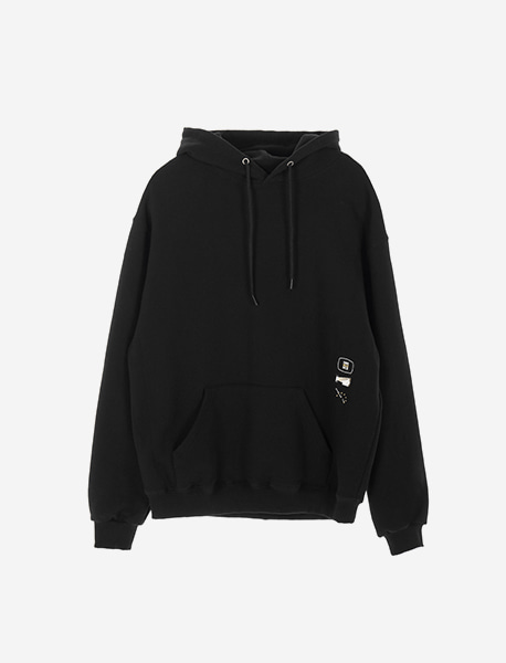 OBEDIENCE HOODIE - BLACK brownbreath
