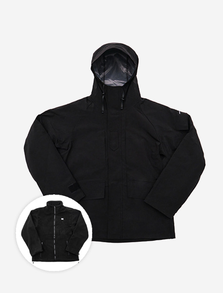 DEFS ECWCS PARKA - BLACK brownbreath