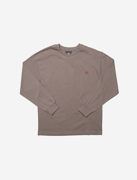 TAG LONGSLEEVE - GREY brownbreath