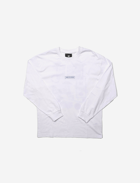 TPKY LONGSLEEVE - WHITE brownbreath