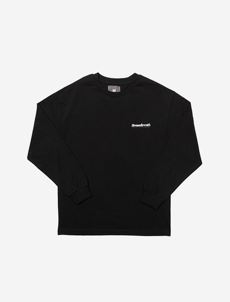 B TYPE LONGSLEEVE - BLACK brownbreath