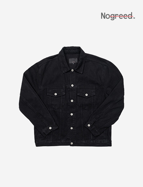 NGRD DENIM JACKET - BLACK brownbreath