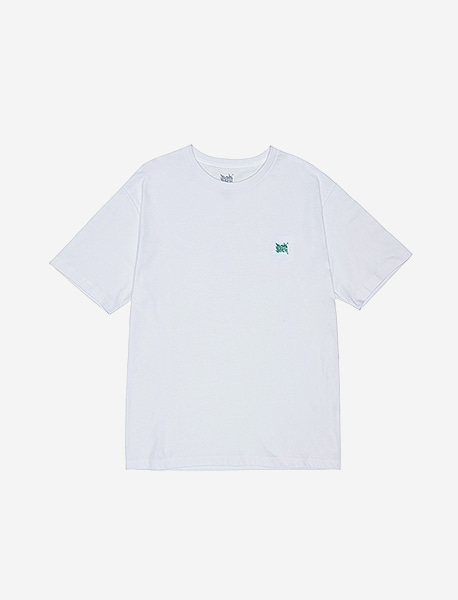 TAG 20 TEE - WHITE brownbreath