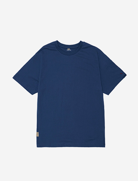 NOGREED BASIC T - BLUE brownbreath