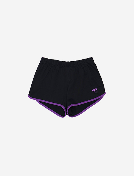 DAMMMMN SHORTS - BLACK brownbreath