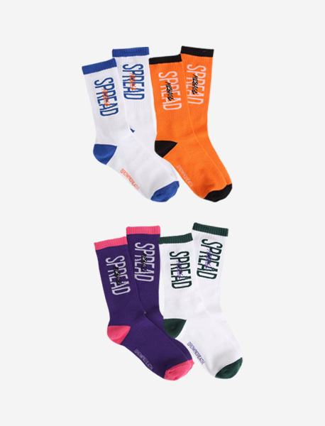 [KIDS] STM SOCKS (1SET OF 2EA) - 2 colors brownbreath