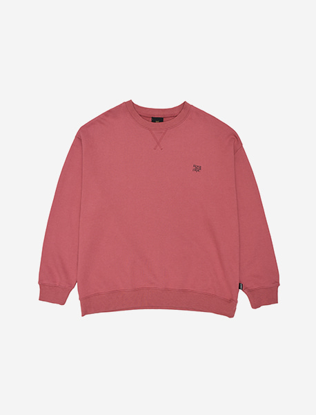 BB DEPT CREWNECK - INDY PINK brownbreath