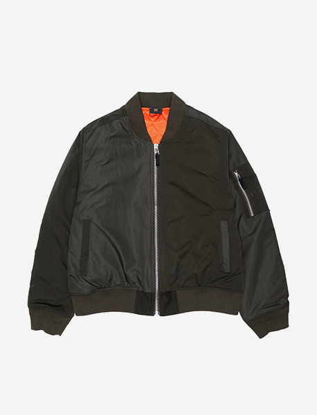 FACTS MA-1 JACKET - KHAKI brownbreath