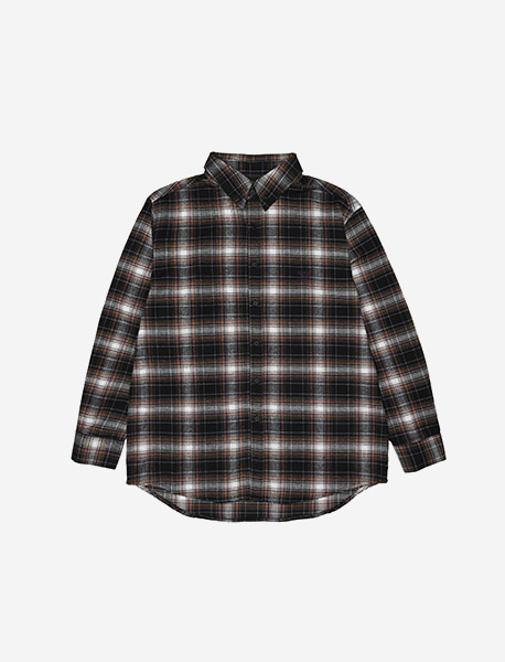 BB DEPT CHECK SHIRTS - PURPLE brownbreath