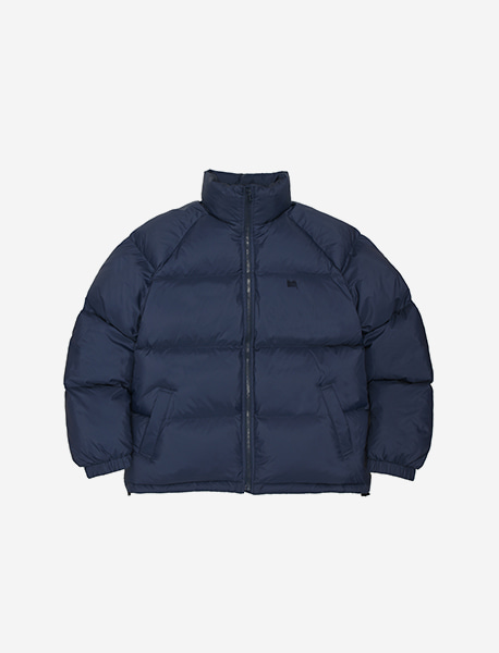 [10/13 예약발송] TAG SHORT DOWN PUFFER - NAVY brownbreath
